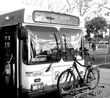 San Diego bus and trolley