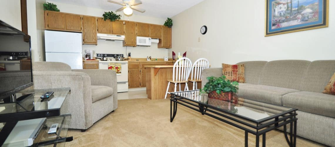 One Bedroom Furnished Apartments with Utilities Included